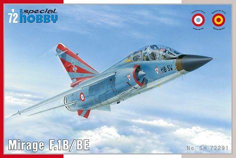 [SPECIAL HOBBY]  DASSAULT MIRAGE F 1B/BE 1/72ème Réf SH72291 13096210