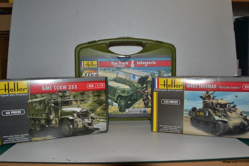 """La 2ème DB """"Jeep - GMC CCKW353 - Sherman M4a2""""  [Heller 1/72] Dsc_0226"""