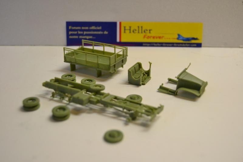 """La 2ème DB """"Jeep - GMC CCKW353 - Sherman M4a2""""  [Heller 1/72] Dsc_0228"""