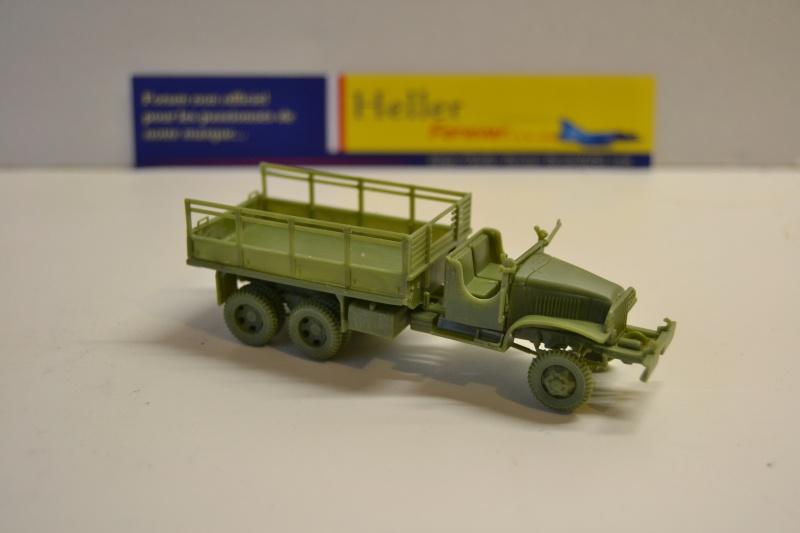 """La 2ème DB """"Jeep - GMC CCKW353 - Sherman M4a2""""  [Heller 1/72] Dsc_0229"""