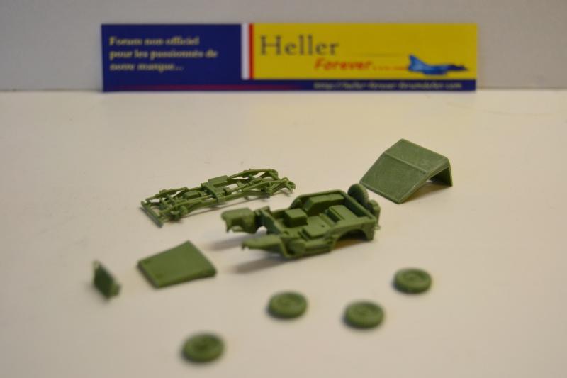 """La 2ème DB """"Jeep - GMC CCKW353 - Sherman M4a2""""  [Heller 1/72] Dsc_0230"""