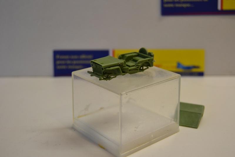 """La 2ème DB """"Jeep - GMC CCKW353 - Sherman M4a2""""  [Heller 1/72] Dsc_0231"""