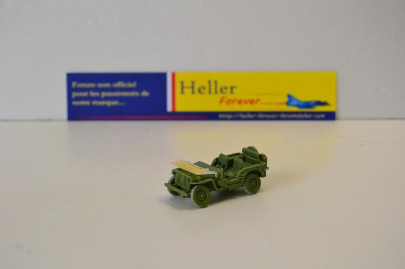 """La 2ème DB """"Jeep - GMC CCKW353 - Sherman M4a2""""  [Heller 1/72] Dsc_0236"""