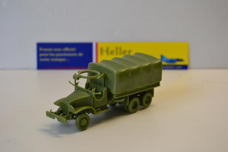 """La 2ème DB """"Jeep - GMC CCKW353 - Sherman M4a2""""  [Heller 1/72] Dsc_0237"""