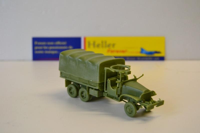 """La 2ème DB """"Jeep - GMC CCKW353 - Sherman M4a2""""  [Heller 1/72] Dsc_0239"""