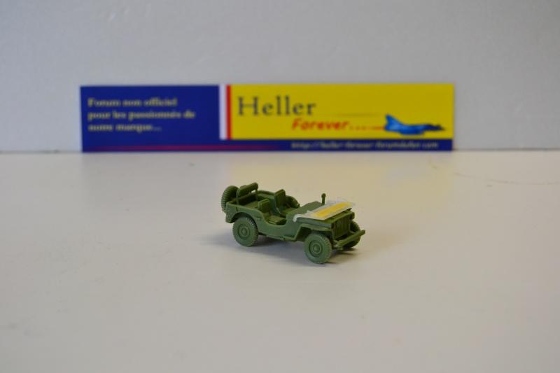 """La 2ème DB """"Jeep - GMC CCKW353 - Sherman M4a2""""  [Heller 1/72] Dsc_0240"""