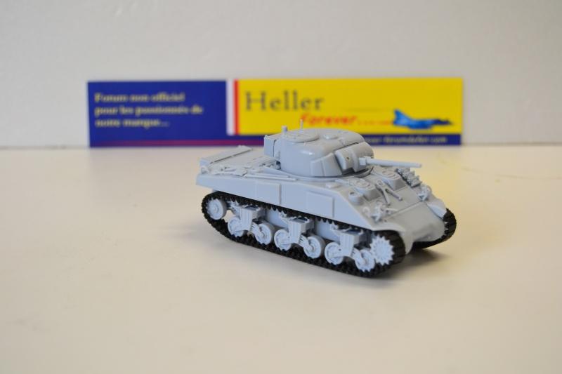 """La 2ème DB """"Jeep - GMC CCKW353 - Sherman M4a2""""  [Heller 1/72] Dsc_0241"""
