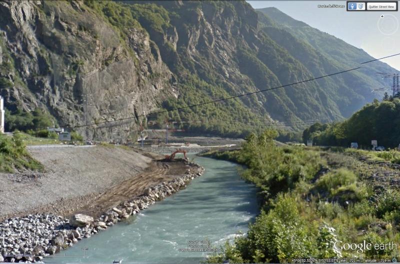 [Désormais visible sur Google Earth] - Le barrage hydroélectrique de Gavet sur la Romanche - Isère Sans_114