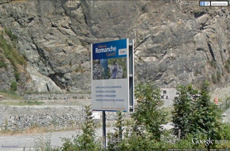 [Désormais visible sur Google Earth] - Le barrage hydroélectrique de Gavet sur la Romanche - Isère Sans_115