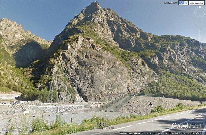 [Désormais visible sur Google Earth] - Le barrage hydroélectrique de Gavet sur la Romanche - Isère Sans_116