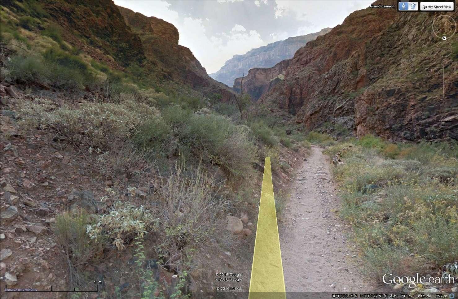 STREET VIEW : sentiers, trails & Co Sans_218
