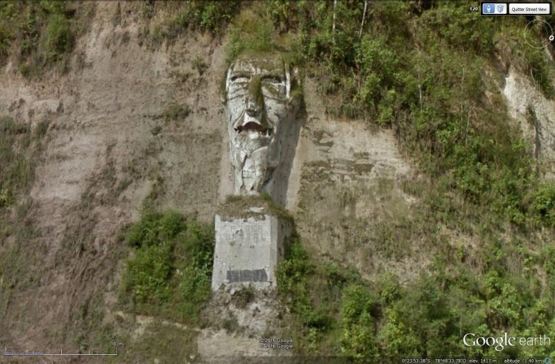"""Sculpture """"El poder brutal"""" - Tandapi - Equateur Sans_269"""