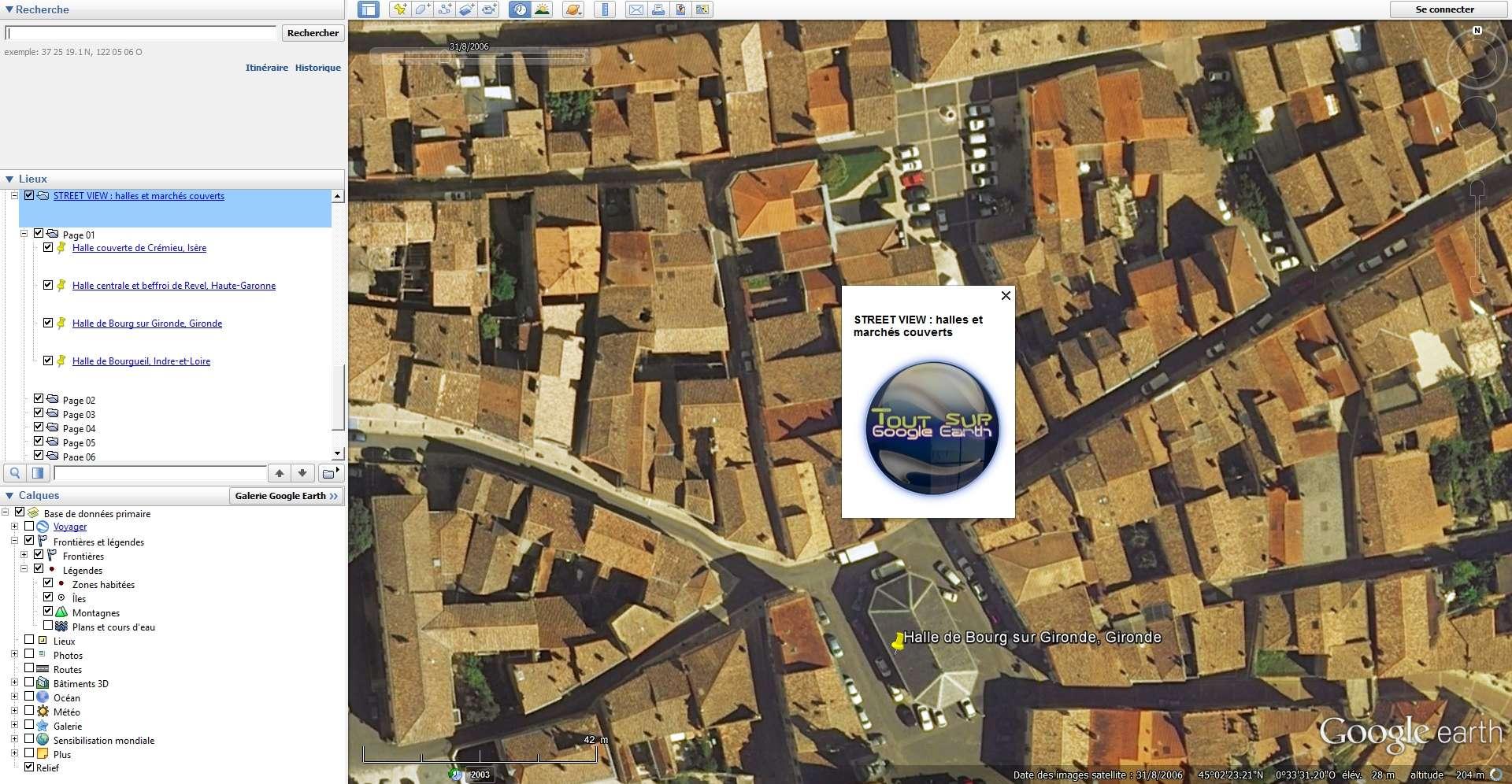 STREET VIEW : halles et marchés couverts Sans_t45