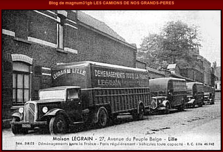 Photos d'époque de camions Citroën - Page 29 0142