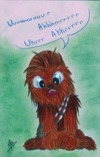 mes petits dessins ^^  - Page 6 Chewie12