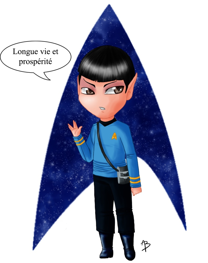 mes petits dessins ^^  - Page 6 Spock_10