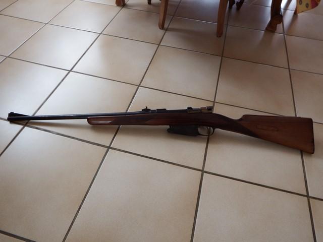 [recherche docs] Mauser Belge 1916 transformé en arme de chasse Dscf1245