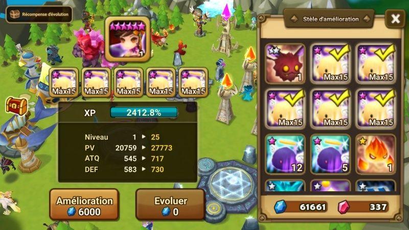 Conseils sur l'Amélioration et l'Evolution Screen12