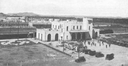 Transports CFM, Gares et Affiches du Maroc Gare_k10
