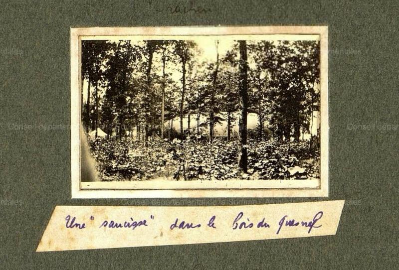 photos de LE QUESNEL pendant la guerre Bois_q11