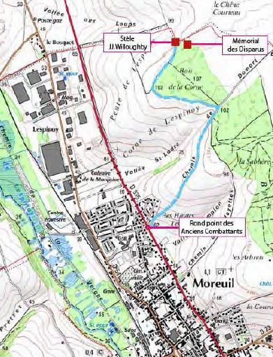 Moreuil Wood et l'ONAC Commem10