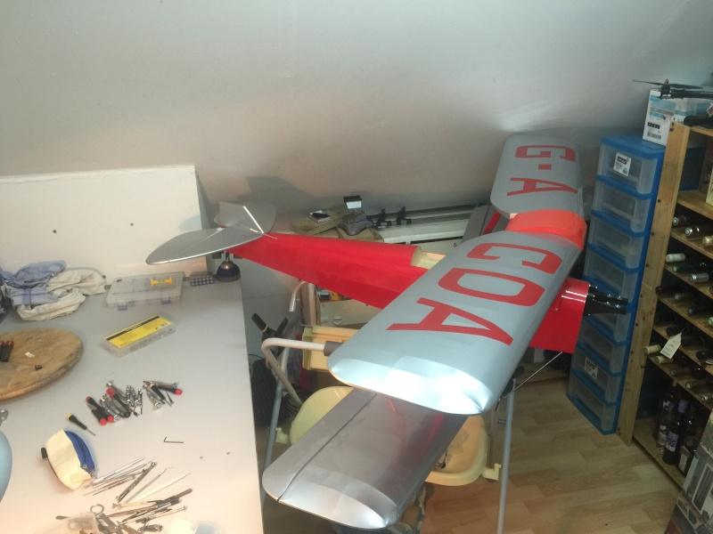 "Le nouveau venu! ""Tiger Moth + SAITO 20cc 4tps"" - Page 2 Img_1210"