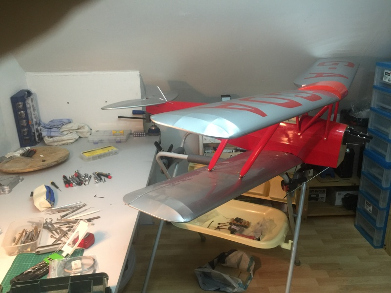 "Le nouveau venu! ""Tiger Moth + SAITO 20cc 4tps"" - Page 2 Img_1212"