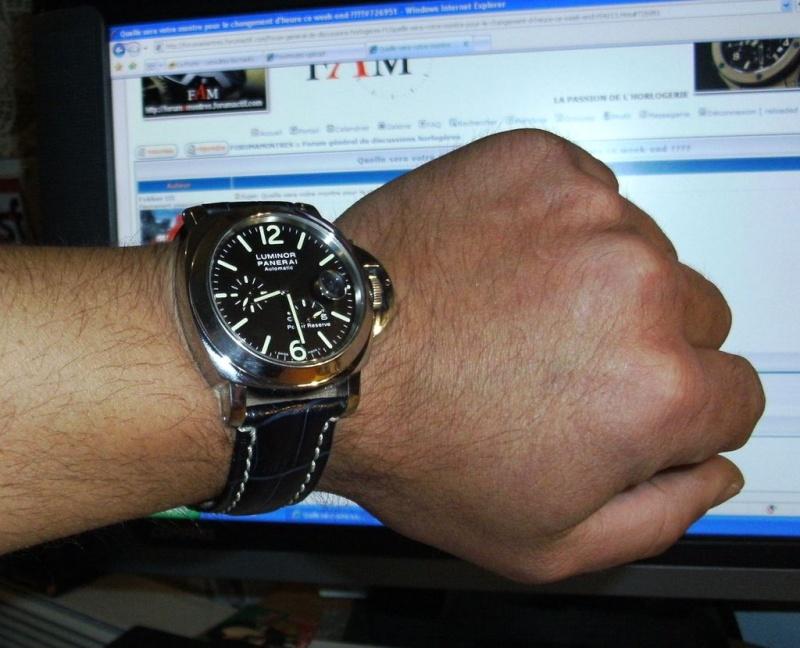 Quelle sera votre montre pour le changement d'heure ce week-end  ???? Panini10