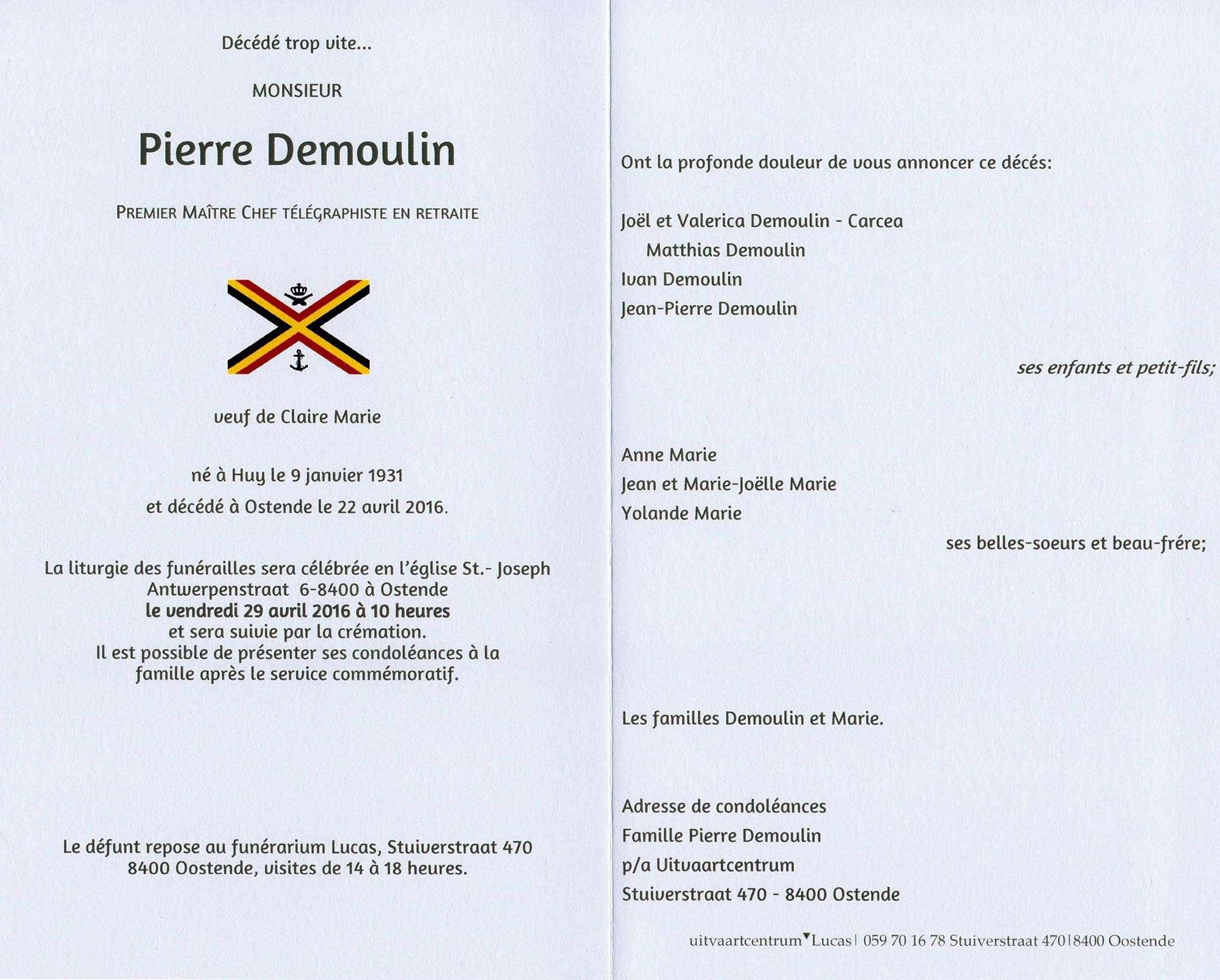 """Décès de Papillon (Pierre """"Pierrot"""" Demoulin) 36429_10"""