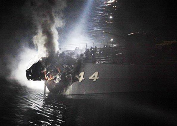 Japanese Maritime Self Defense Force (Marine Japon) Collis10