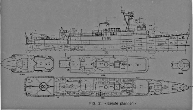 les frégates E71 : de la conception à la construction... E71_c110