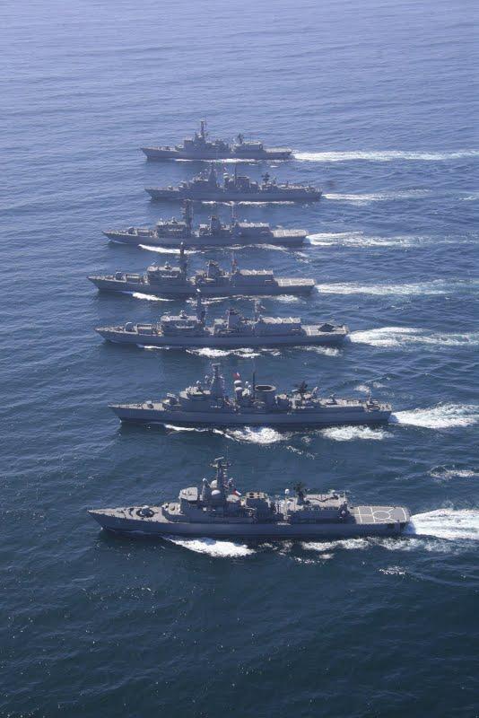 Chilean Navy - Marine du Chili Escuad11