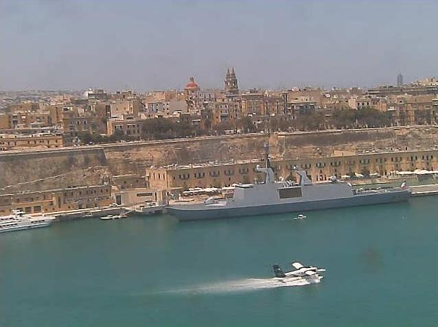 Photos en live des ports dans le monde (webcam) - Page 6 Malte_31