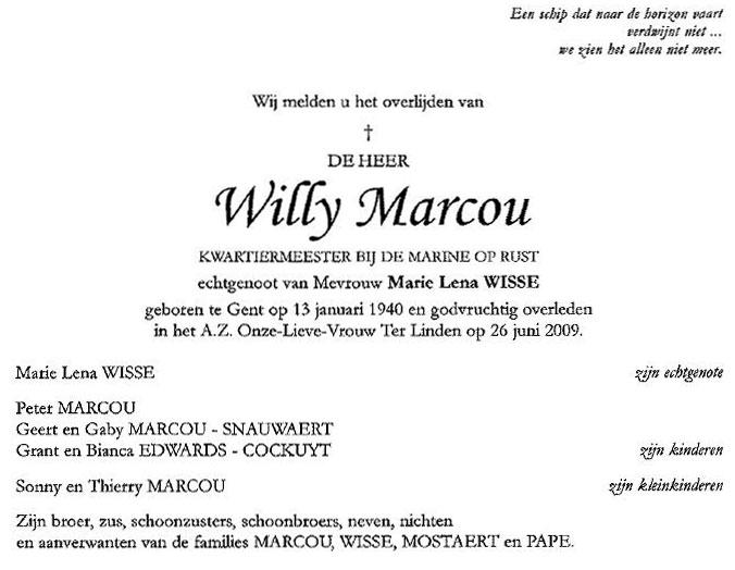 Déces - Overlijden (1) - Page 6 Marcou10