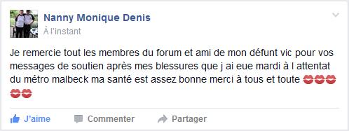 Un membre du forum victime des attentats de Bruxelles ! Moni10