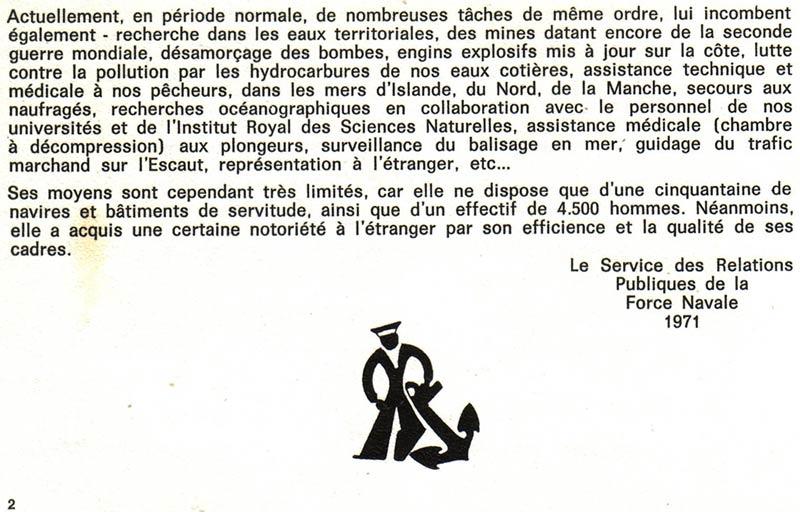 La Force Navale en 1971 N_flot12