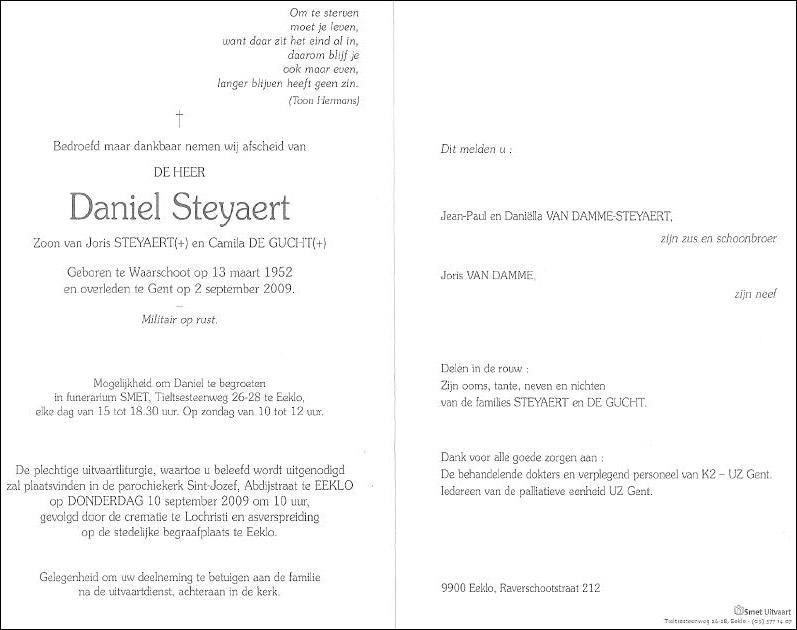 Déces - Overlijden (1) - Page 7 Steyae10