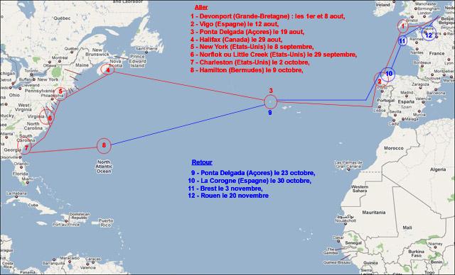 M921 Lobelia - Page 7 Voyage11