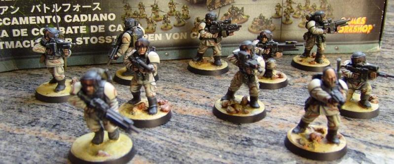 8eme Régiment d'Infanterie Mobile de Cadia. Groupe10