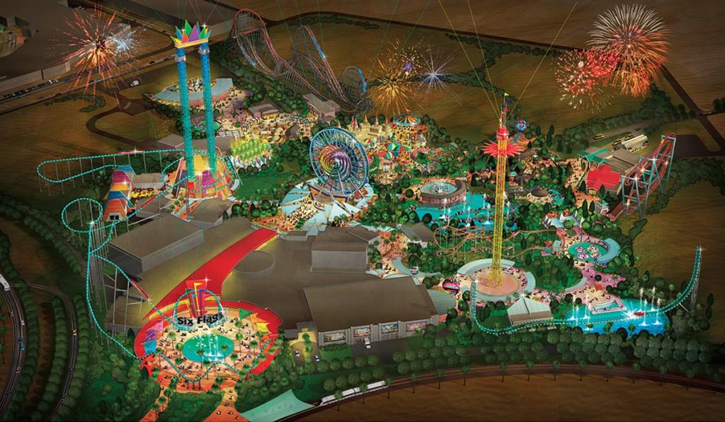 [ÉAU] Dubai Parks & Resorts : motiongate, Bollywood Parks, Legoland (2016) et Six Flags (2019) - Page 3 Six_fl10