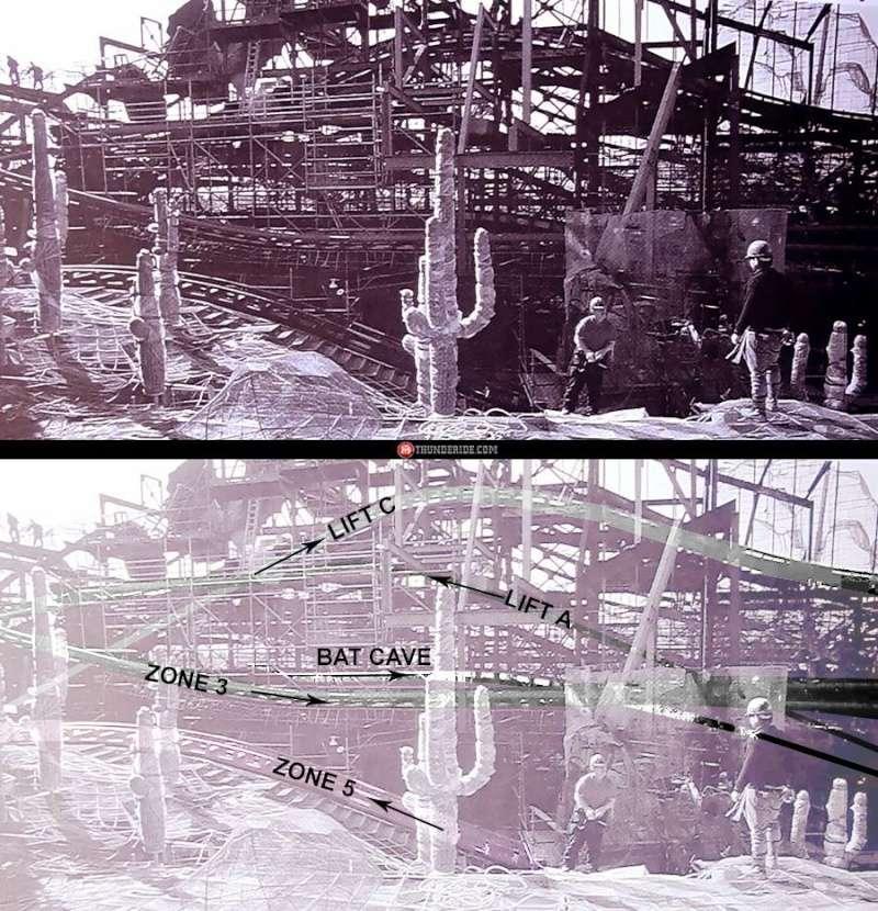Photos de la construction du Parc Disneyland - Page 4 13001110