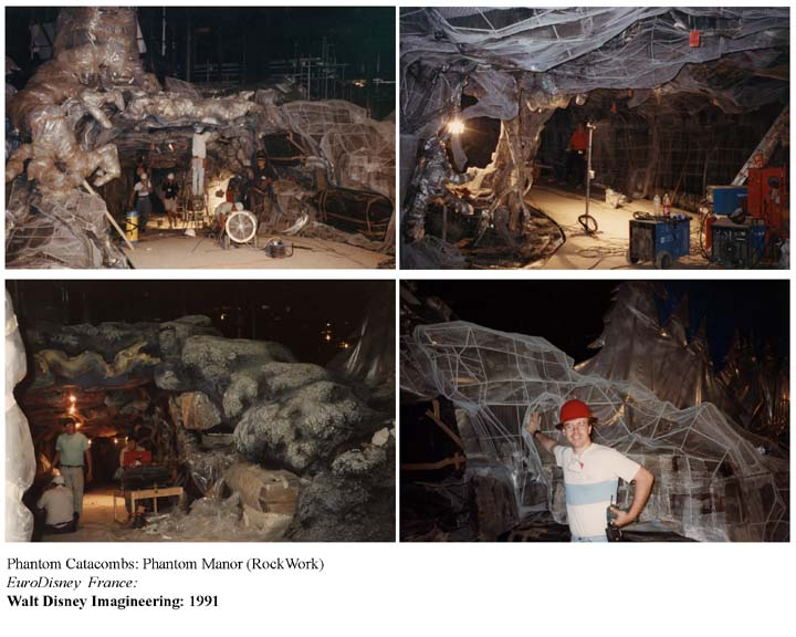 Photos de la construction du Parc Disneyland - Page 4 Rockwo10