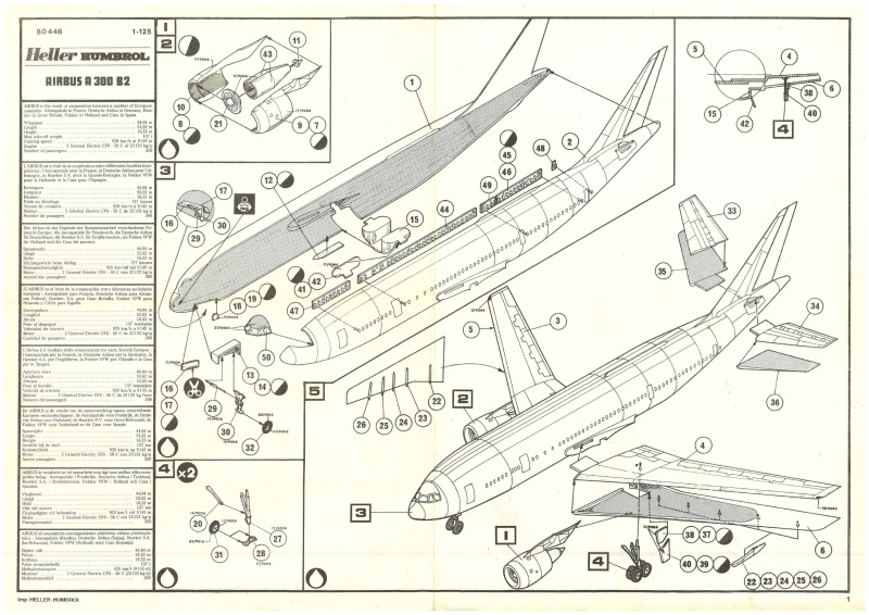 AIRBUS A 300 B2 1/125ème ref 80446_12