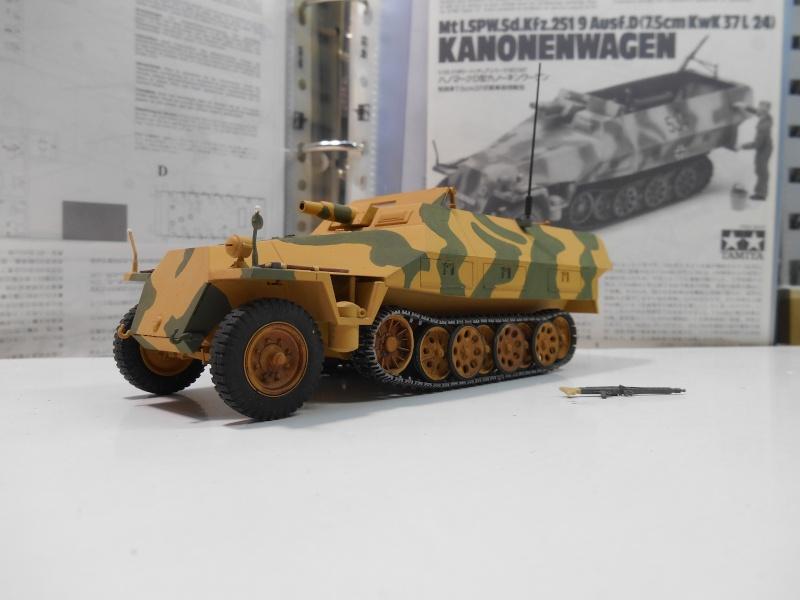 Sd.Kfz.251/9 Ausf.D KANONENWAGEN - Tamiya 1/35e 5-sd_k10