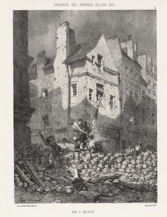 Les Trois Glorieuses - Juillet 1830 Barric10