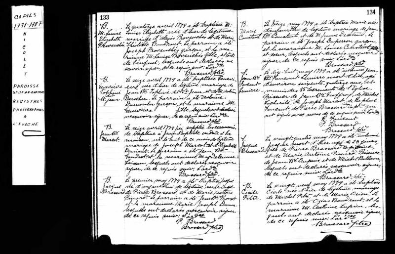 Descendants de Madeleine Dedam et John Young - Page 2 Cecile10