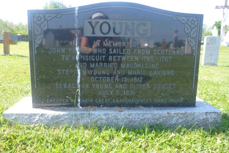Descendants de Madeleine Dedam et John Young John_y10