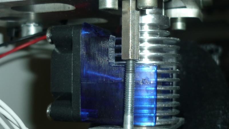 Changement filament tube teflon cassé P1050611