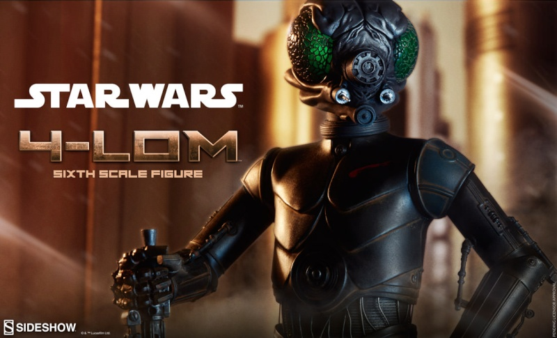 Sideshow Collectibles Star Wars - 4-LOM Sixth Scale Figure  4lom_010