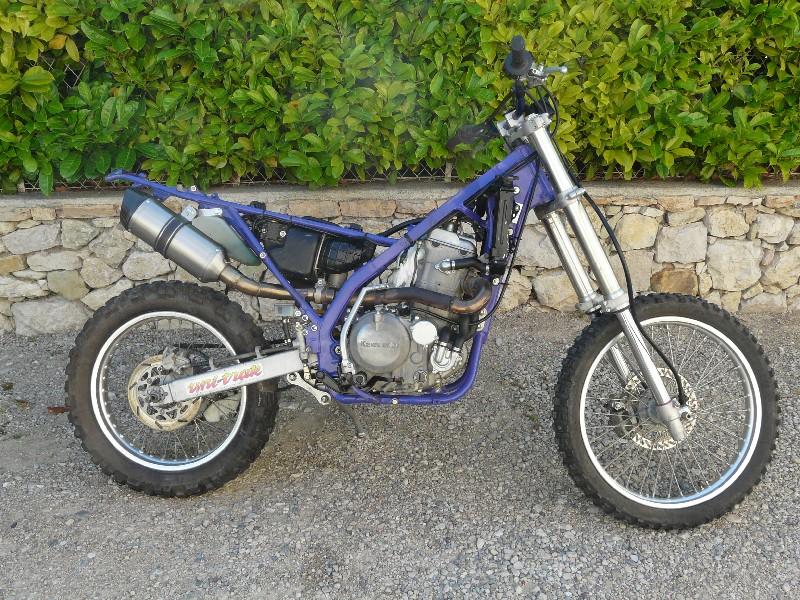 """Mon KLXR 650 Italien """"enfin"""" Klxr6510"""